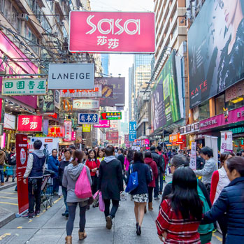 Hong Kong Shopping Paradise