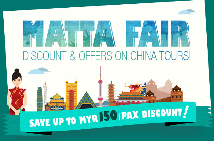 MATTA Fair Discount and Offers on China Tours